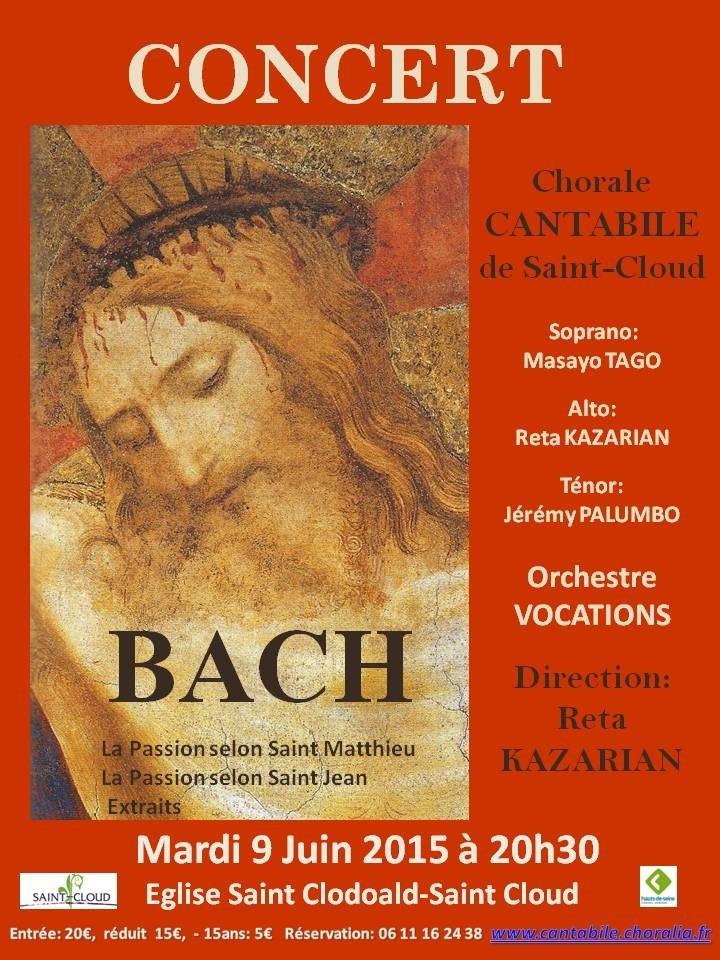 2015 concert affiche Bach